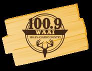 W-A-A-I FM 100.9 Logo